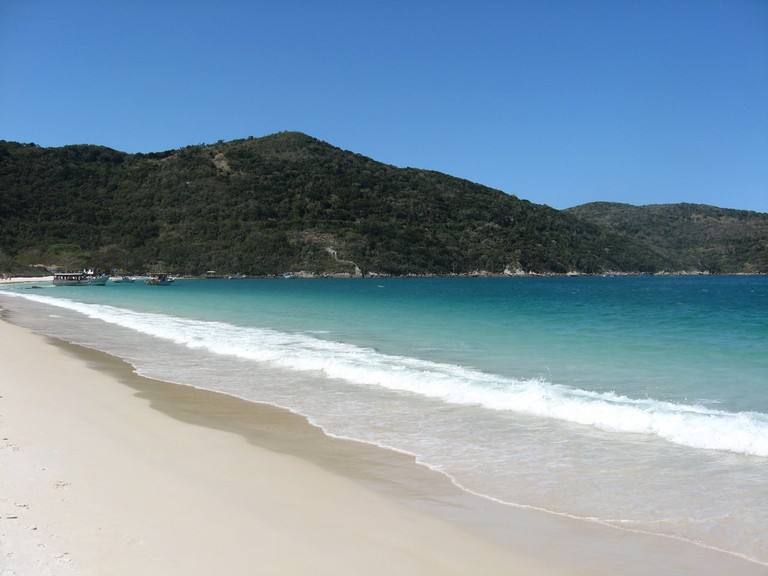 Secluded beach near Arraial do Cabo