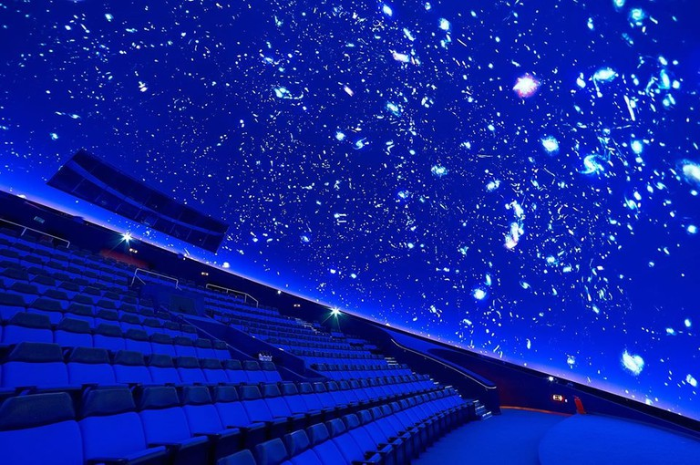 The fascinating planetarium of the Eugenides Foundation, in Athens