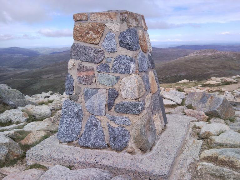 Mount Kosciuszko's summit