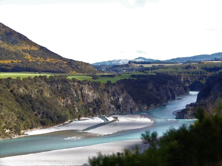 A river on the TranzAlpine route