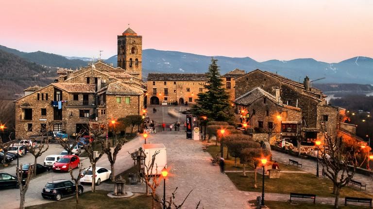 Aínsa, Aragon, Spain