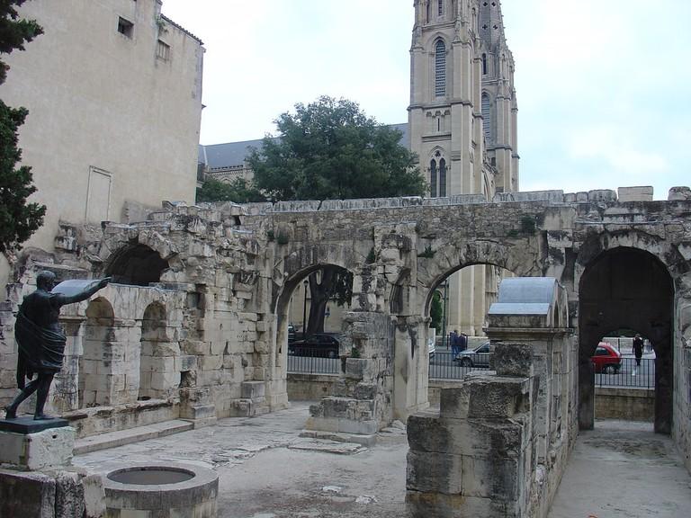 Porte Auguste in Nimes