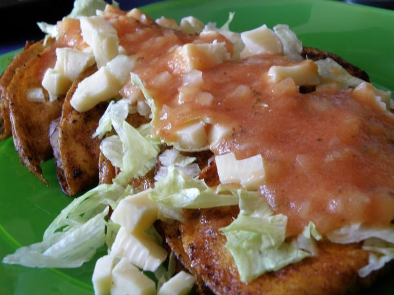 Enchiladas Rojas │