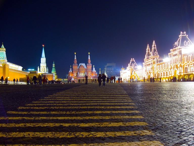 Ночная Красная Площадь