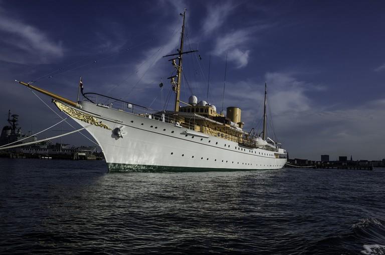 Danish Queen Royal Yacht Dannebrog