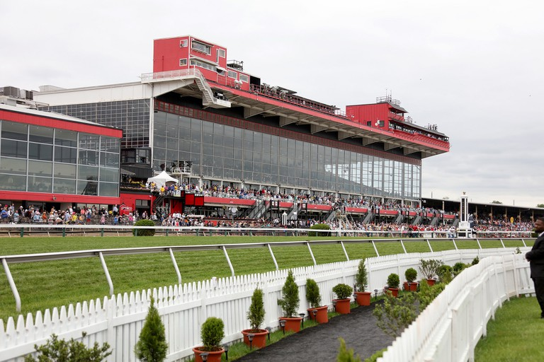 Pimlico Race Course during the 142nd Preakness Stakes.