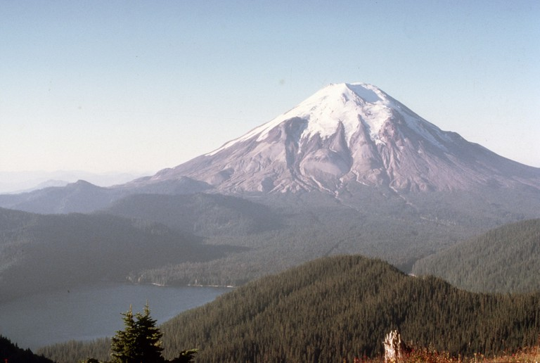 Mt. St. Helen before the eruption