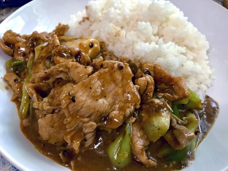 A typical Thai dish