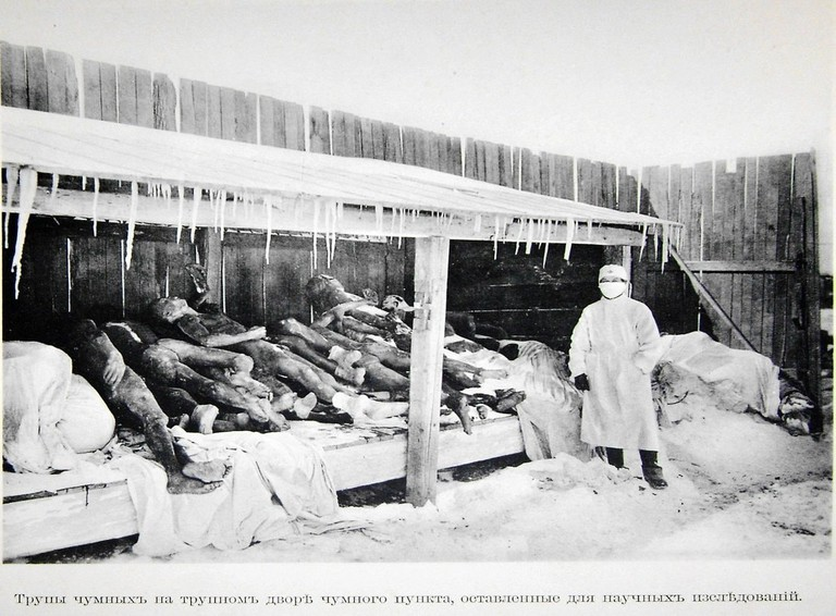 An old photo of Japanese Unit 731