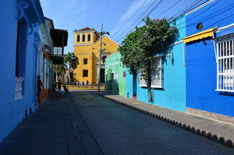 Colourful Getsemani is well worth a visit whilst in Cartagena