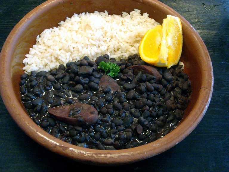 Feijoada Brazilian food