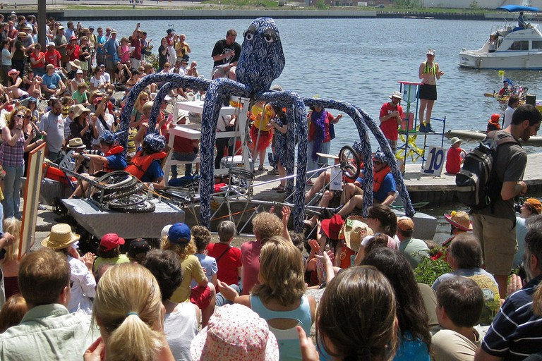 Kinetic Sculpture Race, Baltimore, Maryland