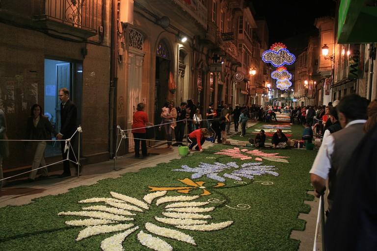 Corpus Christi Ponteareas, Spain