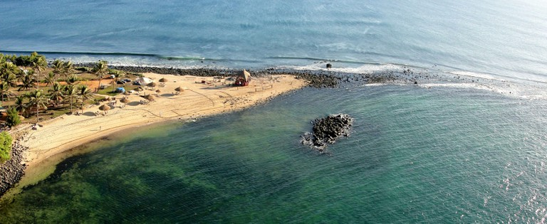 The westernmost point of the African mainland, Dakar, Senegal