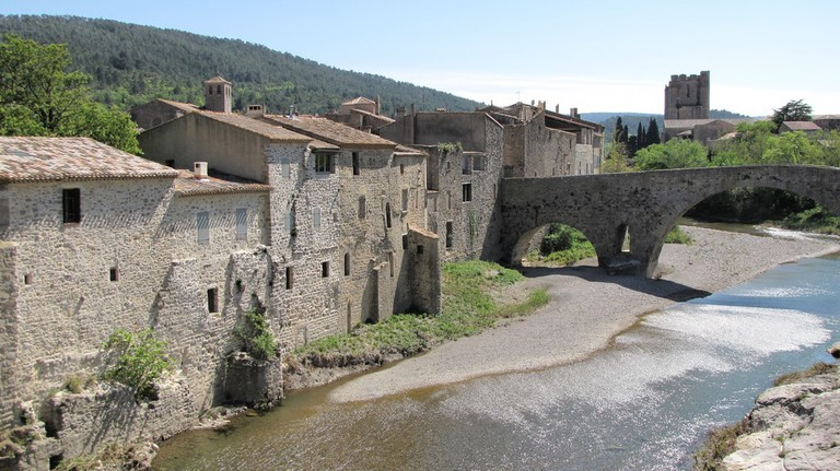 Medieval village of Lagrasse