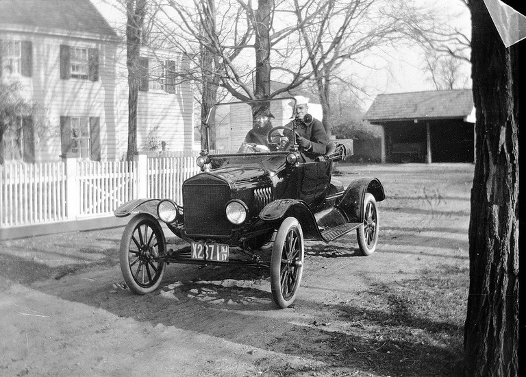 Ford Model T with 1917 New Jersey plates