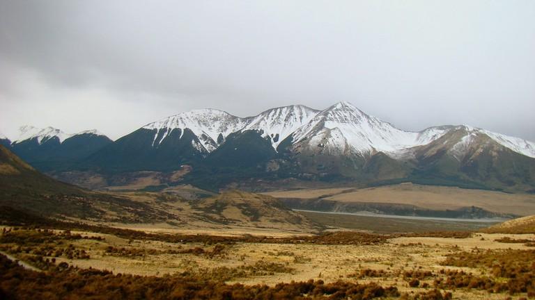 TranzAlpine high country scenery