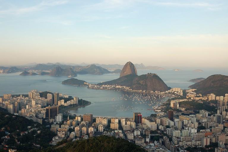Dona Marta viewpoint