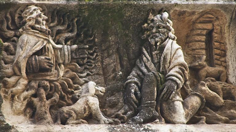Roman Catholic Nîmes Cathedral in Nimes