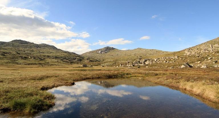 Along the Main Range trail to Mount Kosciuszko
