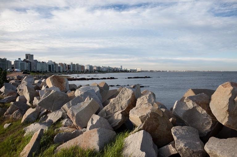 Montevideo's skyline from Punta Carretas