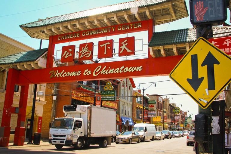 Chicago's Chinatown celebrated 100 years in 2012