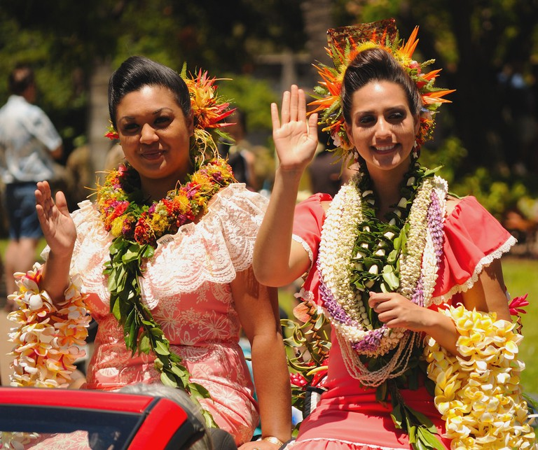 King Kamehameha Day Parade | © Daniel Ramirez/Flickr