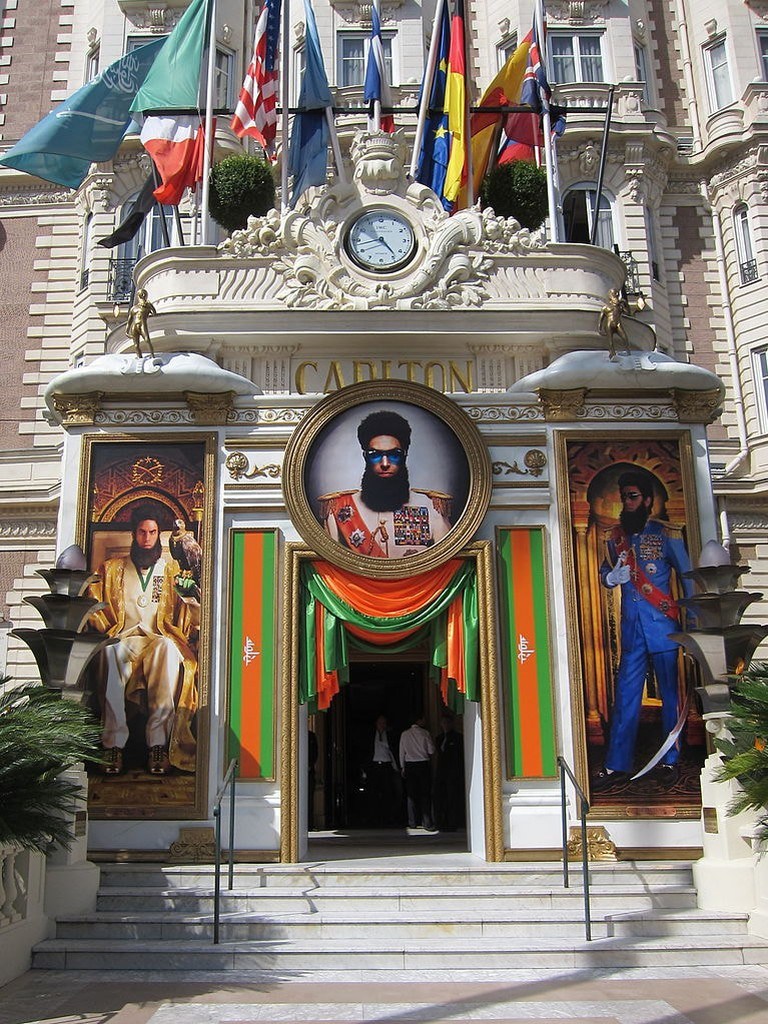The Dictator movie takes over The Carlton | © Bex Walton / WikiCommons