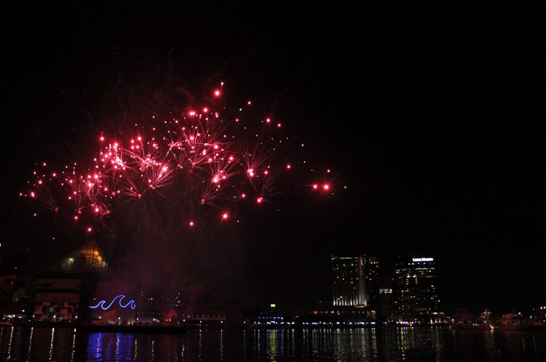 Fireworks, 4th of July, Independence Day, Baltimore, Maryland, Inner Harbor
