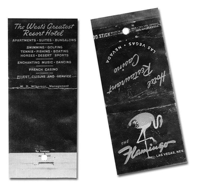 797px-Flamingo_matchbook,_1946