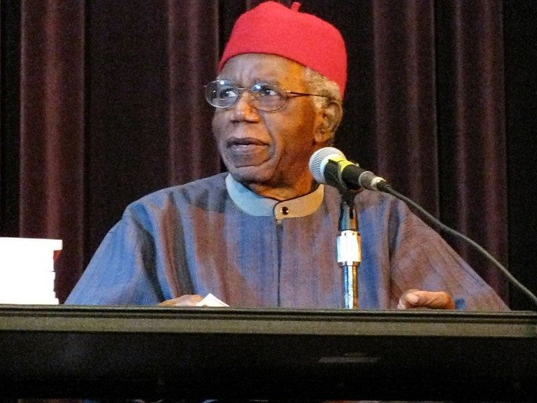 Chinua Achebe, Nigerian novelist and poet, is from the Igbo tribe