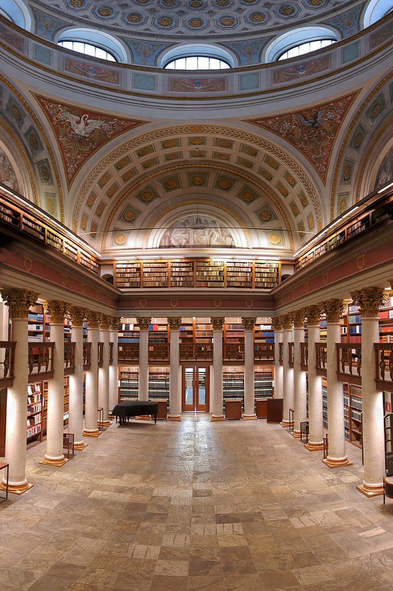 National Library's Cupola Hall, Finland.