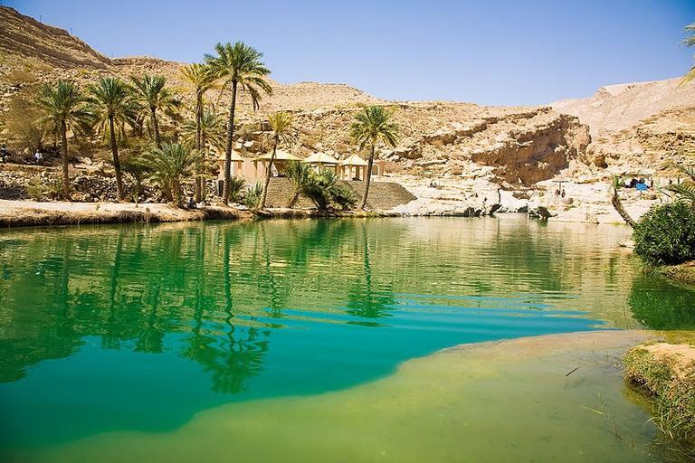 Wadi Bahn Khalid Oman