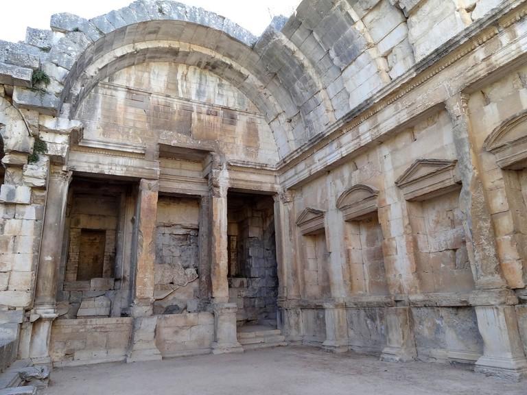 The ancient Temple de Diane