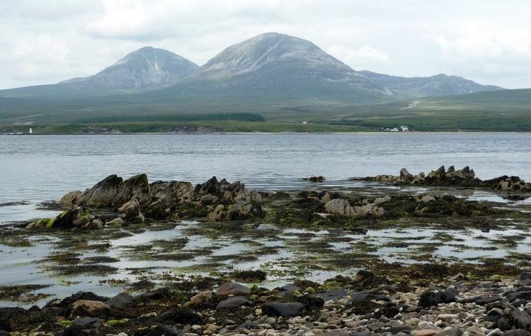 Views Of Jura From Islay, Scotland