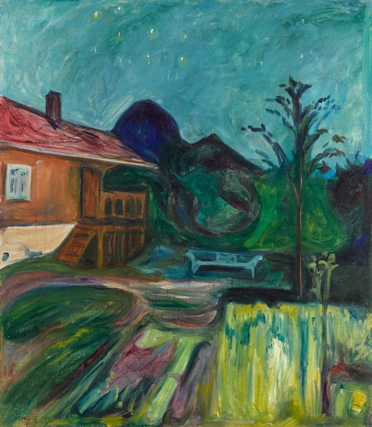 Edvard Munch, 'Sommernatt (Summer Night),' 1902