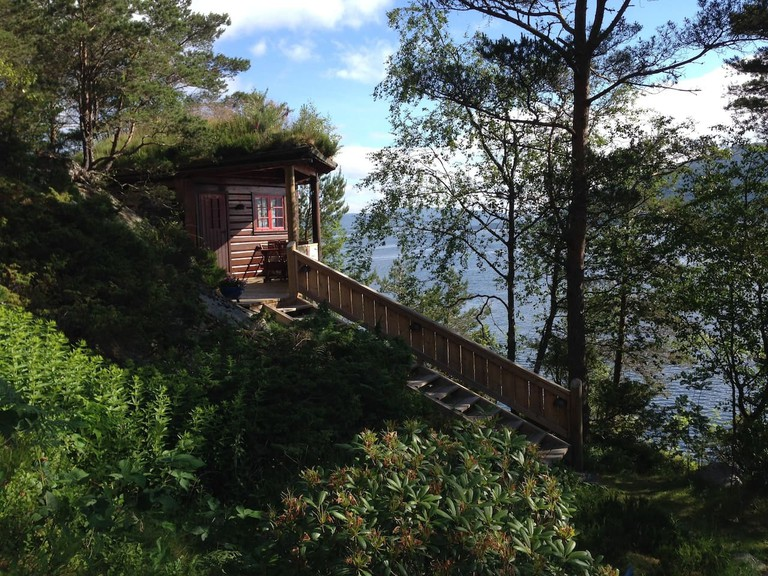 A log cabin in Askøy