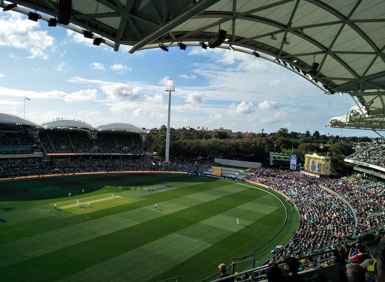 Adelaide Oval during a game of cricket © Tom Smith