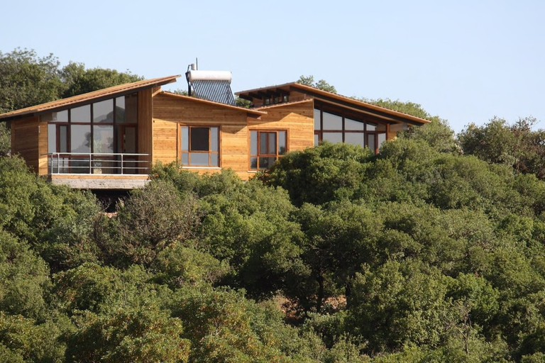 One of the cabins in Ajloun Forest Reserve