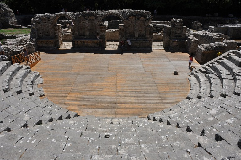The Greek theatre of Butrint