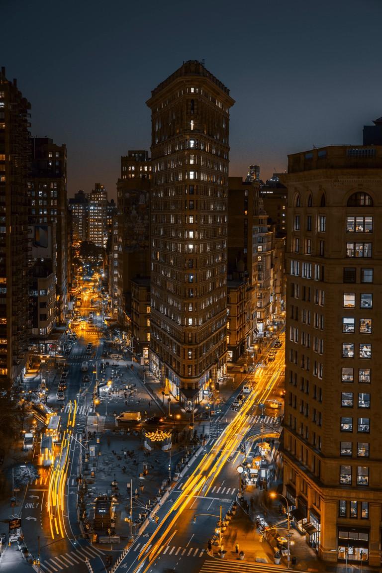 Flatiron is one of the busier neighborhoods in Manhattan