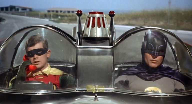 Burt Ward and Adam West in 'Batman'
