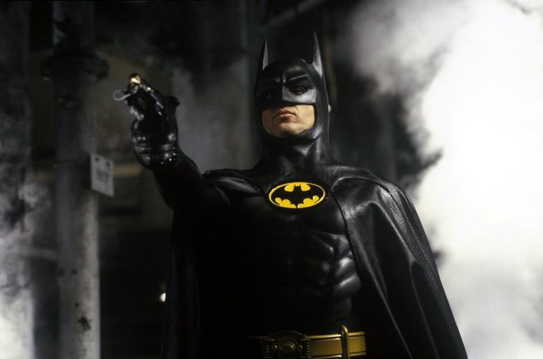 Michael Keaton as the Caped Crusader in 'Batman'