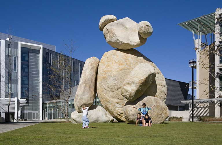 """Bear"", Stuart Collection, CALIT2 at UCSD, La Jolla, CA, USA"