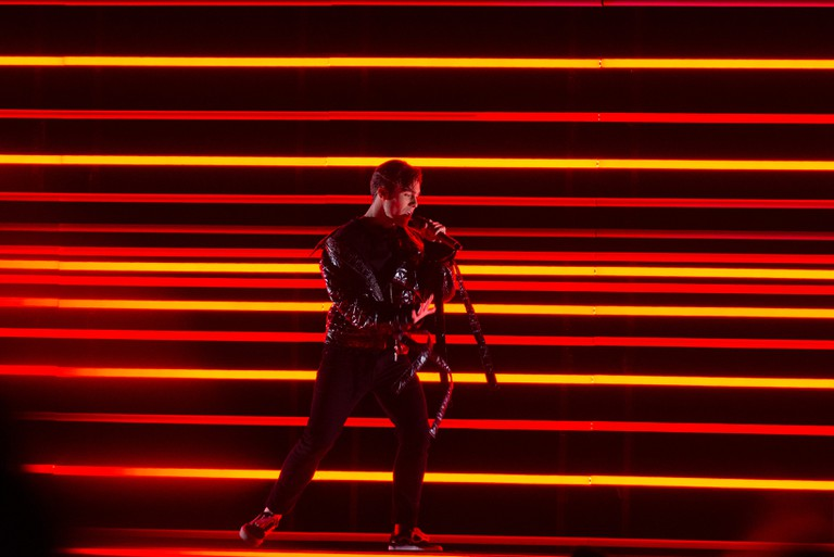 2018 Melodifestivalen winner Benjamin Ingrosso