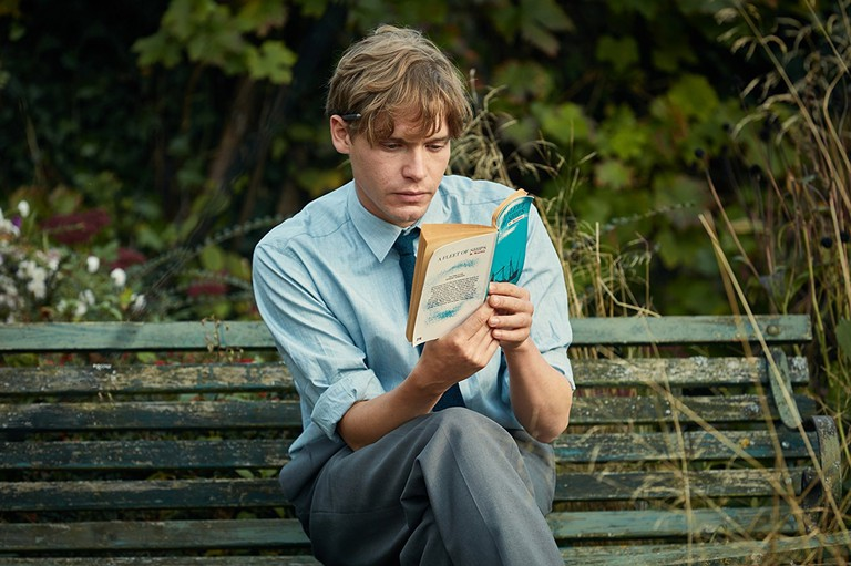 """Billy Howle as Edward in """"On Chesil Beach"""""""