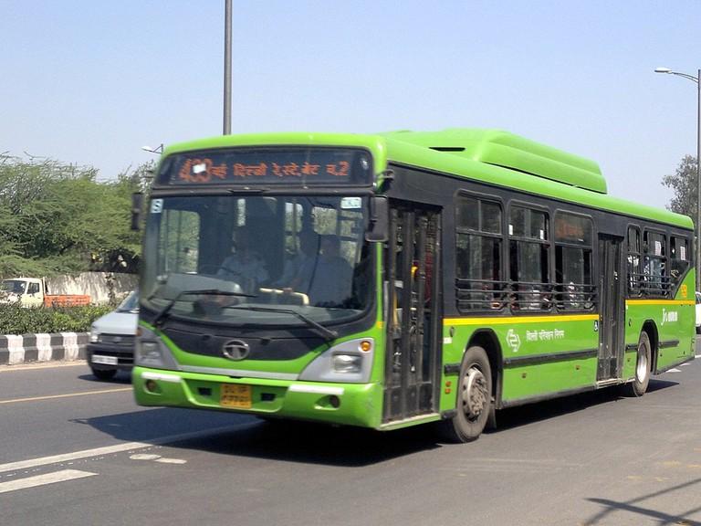 Bus Delhi