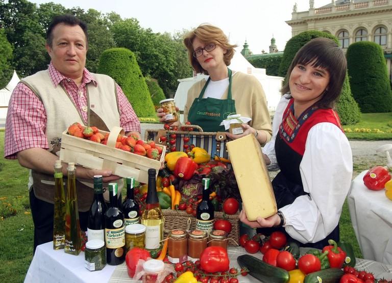 Verkostung des Genussfestivals im Wiener Stadtpark