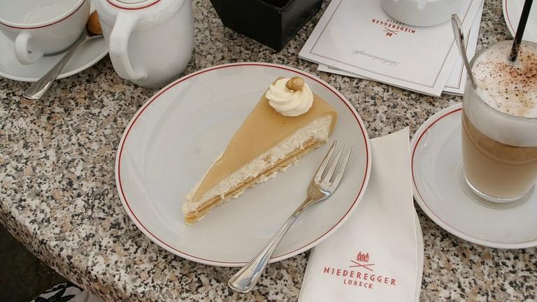 Delicious treats at Café Niederegger