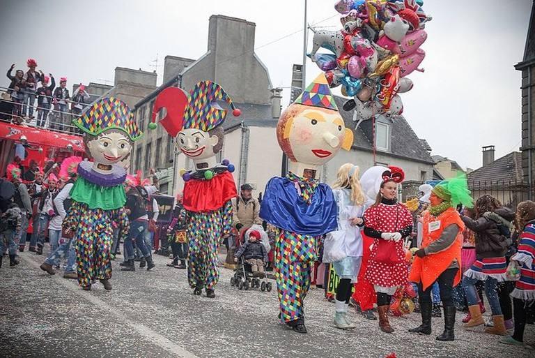 carnaval de granville free in normandy